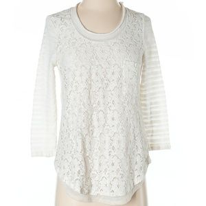 Anthropologie One September | lace blouse